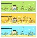 Link toVector cartoon scene 4