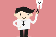 Link toVector cartoons dentists and dental