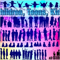 Link toVector children, kids, teens,
