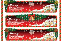 Link toVector christmas activities banner to
