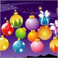Link toVector christmas ball
