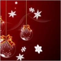 Link toVector christmas ball hanging 1
