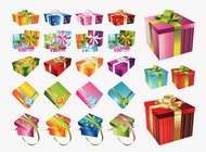 Link toVector christmas presents pack free