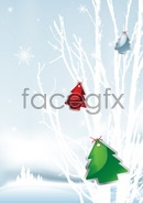 Link toVector christmas snow scenes