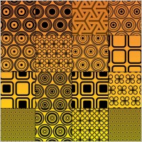 Link toVector circles graphics pattern