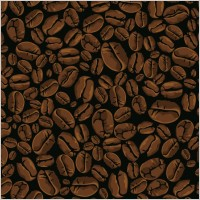 Link toVector coffee beans background
