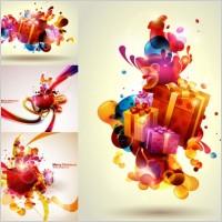 Link toVector colorful christmas gift