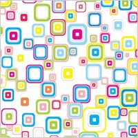 Link toVector colorful seamless retro pattern with rounded squares
