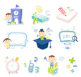 Vector cute icons 1