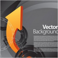 Link toVector dynamic background 3 arrow