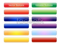 Link toVector editable glossy buttons