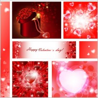 Link toVector elements of a romantic valentine day