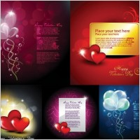 Link toVector elements of romantic love cards