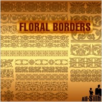 Link toVector floral borders