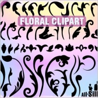 Link toVector floral clipart