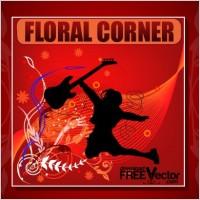 Link toVector floral corner