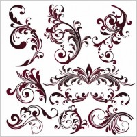 Link toVector floral design elements