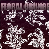 Link toVector floral grunge