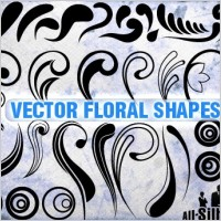 Link toVector floral shapes