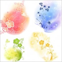 Link toVector flower elements