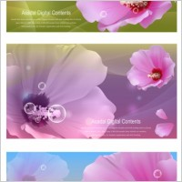 Link toVector flowers bubbles