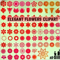 Link toVector flowers clipart