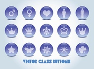 Link toVector glass buttons free