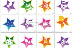 Link toVector graphic stars, life outside the box items icons