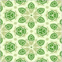Link toVector green seamless floral ornament