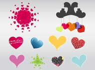 Link toVector heart elements free