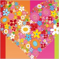 Link toVector heart flowers