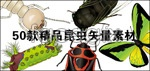 Vector insect series 1