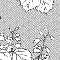 Link toVector line drawing of flowers-29