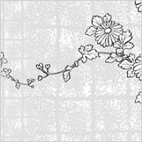 Link toVector line drawing of flowers-37(chrysanthemum, background)