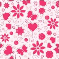 Link toVector love pattern background