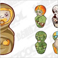 Link toVector material alternative doll