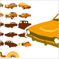 Link toVector material elements of classic cars