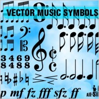 Link toVector music symbols
