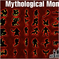 Link toVector mythological monsters