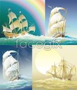 Link toVector old sailing ships