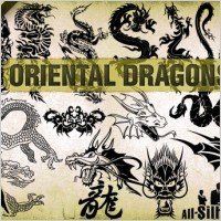 Link toVector oriental dragons