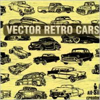 Link toVector retro cars