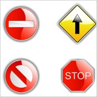 Link toVector road signs
