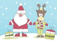 Link toVector santa claus free
