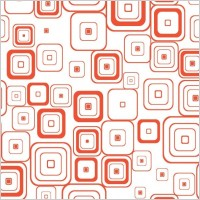 Link toVector seamless retro pattern with rounded squares