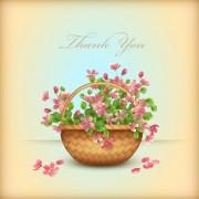 Link toVector set of spring flower cards design 06 free