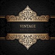 Link toVector set of vintage luxury background design 01 free