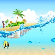 Link toVector set of world travel design graphics 02 free