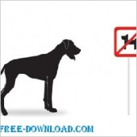 Link toVector silhouettes  dogs