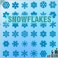 Link toVector snowflakes